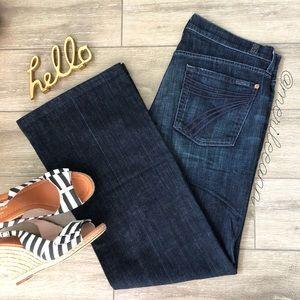 7FAM Dojo Jeans Dark 31x31.5